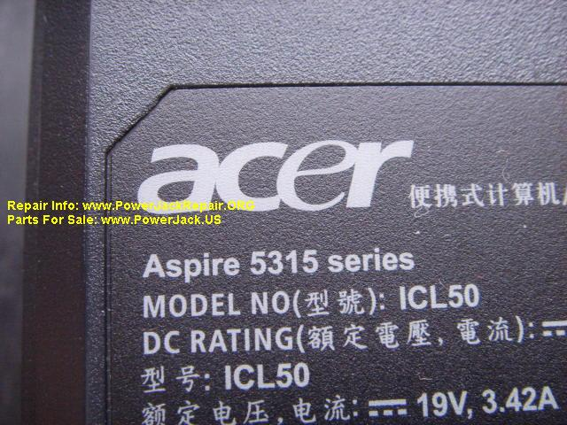 Acer Aspire 5315 series ICL50