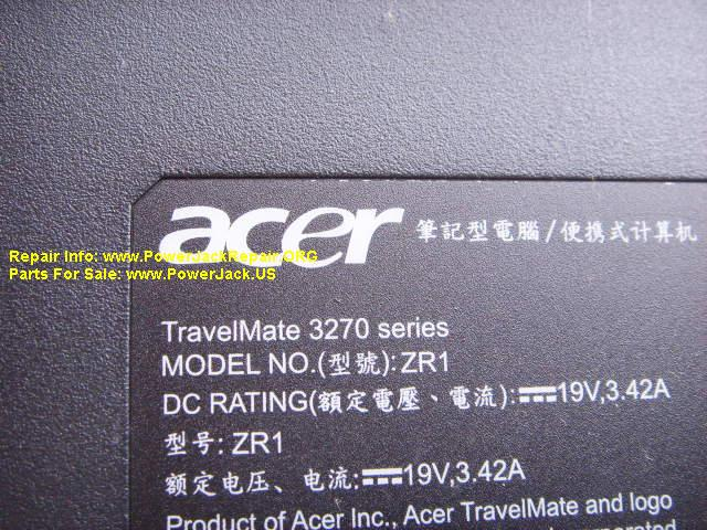 Acer Travelmate 3270 series zr1