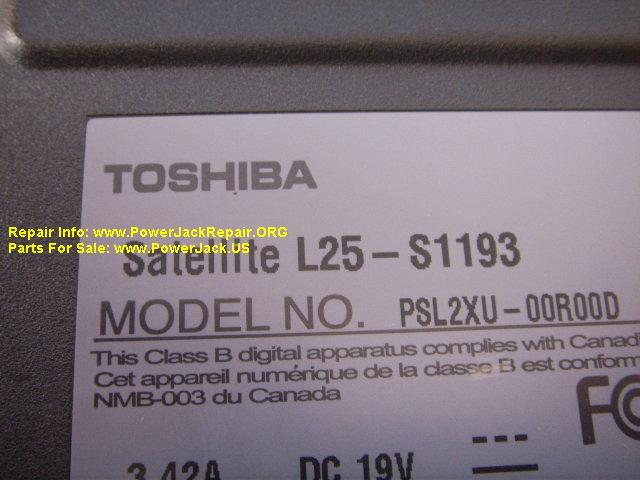 Toshiba Satellite L25 S1193